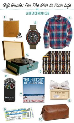 Gift Guide: For the Men