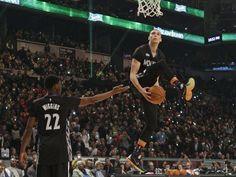 Minnesota Timberwolves rookie Zach LaVine steals show in slam dunk contest | Zach LaVine  #ZachLaVine