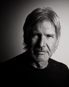 Harrison Ford by Michael Muller. I'll take past, present and future Harrison Ford thank you very much. Black And White Portraits, Black And White Pictures, Black And White Photography, Portrait Photography Men, Celebrity Photography, People Photography, Harrison Ford Indiana Jones, Blade Runner, Star Wars