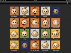 """Det finns gott om olka sorters memoryspel att välja mellan men detta är min absoluta favorit! istället för att spela med bilder så är det känslor som tas upp. har man fått ett par så får man en förklaring för vad känslan betyder och innebär samt att den sätts i ett sammanhang. En bra app att använda sig av om man arbetar med tex """"Stegvis"""" eller Start"""""""