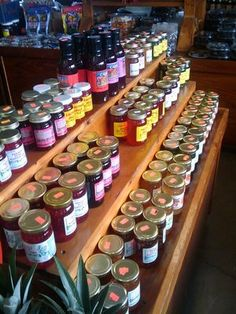 Jelly and Jam display