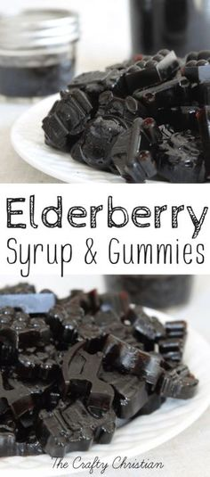 Beat the Flu with Homemade Elderberry Syrup & Gummies Recipe Elderberry Gummies, Elderberry Recipes, Elderberry Syrup, Elderberry Ideas, Elderberry Bush, Chai, Banana Drinks, Paleo, Cancer Fighting Foods
