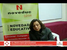 ADD, TGD, TOC, Bipolaridad...Cuestionando etiquetas - Lic. Beatriz Janin - YouTube