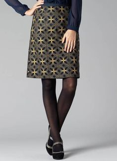 Boden Amazing Embroidered Skirt
