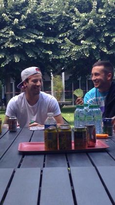 Tyler: I can't BELEAF that we are not dating yet! Josh: *thinks of how to get rid of Jenna*