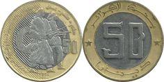 Algeria: Algerian dinar coins