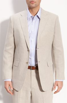 For the Groom: John W. Nordstrom® Linen Sportcoat @Nordstrom #Nordstrom