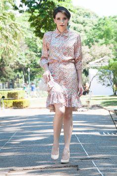 Lady Like Skirt and Blouse: Nina Paiva