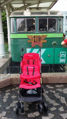 Cable Car to The Peak  Kinderwagon just make outing enjoyable!  美國Kinderwagon香港總代理 www.kinderwagon.com.hk  Kinderwagon HOP 雙人外出嬰兒車 (Double Stroller) Kinderwagon JUMP 大小B車 前後座嬰兒車 (Double Stroller)