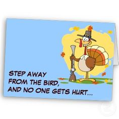 Funny Turkey Day Cards for Thanksgiving