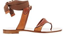 Grear Ankle-Tie Sandals