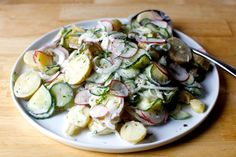 dilled potato and pickled cucumber salad – smitten kitchen