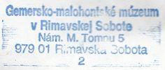Gemersko-malohontské múzeum, Slovensko, Rimavská Sobota
