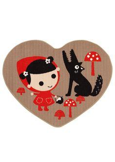 Kodin1, Yllätyspäivät-tarjous, Anno Punahilkka -bukleematto Red Riding Hood, Little Red, Paper Cutting, Collage, Kids Rugs, Watercolor, Drawings, Illustration, Pattern