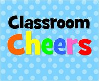 Classroom Cheers - I think these would be great verbal reinforcements and rapport builders. Classroom Cheers, Classroom Fun, Kindergarten Classroom, Classroom Activities, Classroom Projects, Future Classroom, School Projects, Teacher Tools, Teacher Resources
