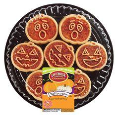Halloween Pumpkin Faces Cookie Platter | Lofthouse Cookies