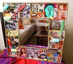 Hair Salon Wall Mirror kitsch art beauty shop by KitschyRitch