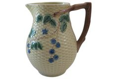 Vintage TIffany & Co. Majolica Pitcher, Portugal