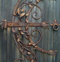 mooie oude deur