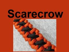 """How to make a Scarecrow Paracord Bracelet (3/8"""" buckle) - YouTube"""