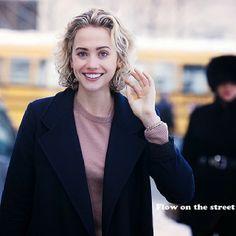 photo by @flowonthestreet http://www.flowonthestreet.com  Laurel Pantin,  NYFW FW14