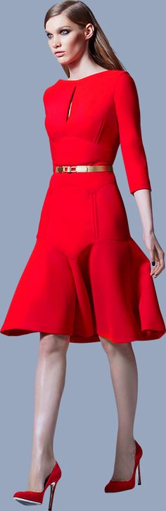 ELIE SAAB - Ready-to-Wear - Prefall 2013 | I did not need to know that Elie Saab had a RTW line!