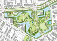 Spinozapark, Rotterdam, Netherlands - Peter Verkade Landschapsarchitect