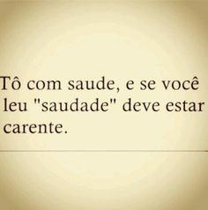 To carente :(