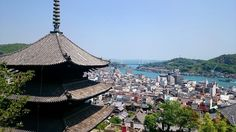 """– Mika no sekai - Japan (@mika_no_sekai) na Instagrame: """"Except of the temples, one of the most unique attractions of Onomichi is the Shimanami Kaido. The…"""""""