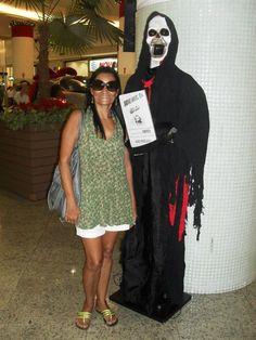 Olha só com quem encontrei no Shopping!!!