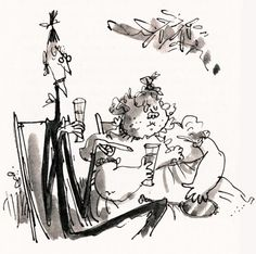 The Twits, by Roald Dahl, illustrated by Quentin Blake