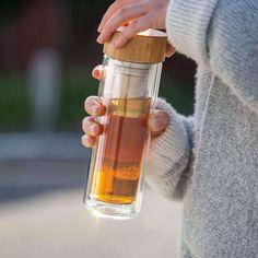 LIFT - 500ml / 16oz Tea Infuser Flask - Made By Fressko