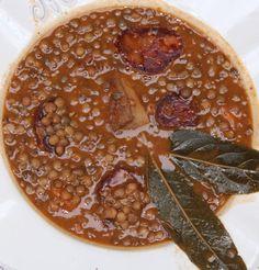 Como hacer lentejas con chorizo - El Aderezo - Blog de Cocina No Dairy Recipes, Bean Recipes, Veggie Recipes, Mexican Food Recipes, Healthy Recipes, Salad Recipes, Chorizo, Easy Cooking, Cooking Recipes