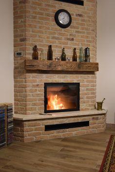 MY corner fireplace.