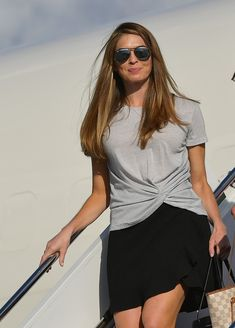 White House Communications Director Hope Hicks steps off off Air Force One upon arrival at Morristown Municipal Airport in Morristown, New Jersey on September Hicks was traveling with US. Get premium, high resolution news photos at Getty Images White House Staff, Image Model, Women In History, Office Outfits, Work Outfits, Celebs, Celebrities, Ralph Lauren, Vogue