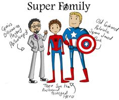 Super Family - Marvel by Naomimon-Alpha.deviantart.com on @deviantART