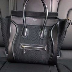 Celine bag - cool chic