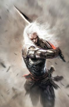 Elric by Francesco Mattina, cover art for Elric The Balance Lost, issue 8