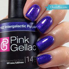 Pink Gellac gel nail polish - Intergalactic Purple $12.95 (buy 3 get 1 free)