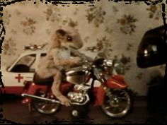 Ralph and his motorcycle