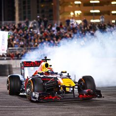 Max Verstappen gave amazing performance in the Sema Show, Las Vegas.