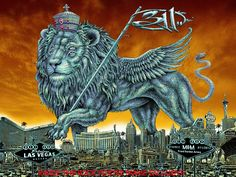 311 by Emek - silkscreen poster from Omg Posters, Band Posters, Movie Posters, Mgm Las Vegas, Las Vegas Shows, Mgm Grand Garden Arena, Print Release, Concert Posters, Urban Art