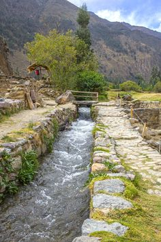Check out Irrigation system at Inca ruin by Patricia Hofmeester on Creative Market