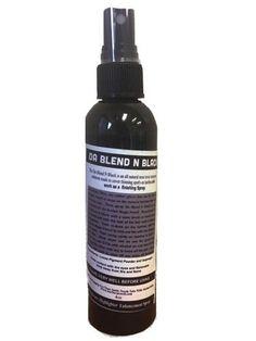 4 oz Bottle of Da Blend n' Black Hairline All Natural Enhancer Finishing Spray by SophisticatedShaver on Etsy