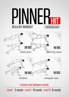 Pinner Workout