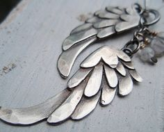 Sterling Wing charm