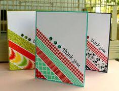 Image result for cartes washi tape