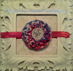 July 4th Patriotic headbands for most ages by CherylsBowtasticBows