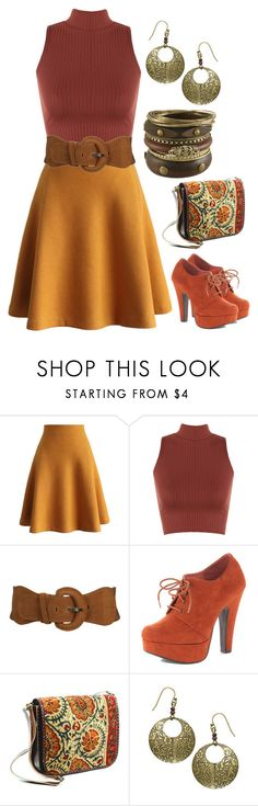 """""""Retro Style #50"""" by mscody on Polyvore featuring Chicwish, WearAll, Wet Seal, Dorothy Perkins, Shared Earth, Miso, 70s, retro, 1970s and retrostyle"""