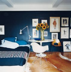 See more images from decorating with blue on domino.com